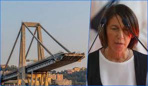 Egle Possetti Presidente Comitato Vittime Ponte Morandi