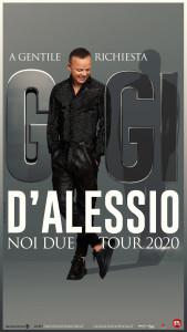 GIGI D'ALESSIO_TOUR_2020