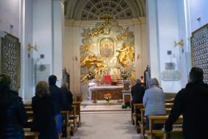 Santuario della Madonna del Divino Amore di Roma.