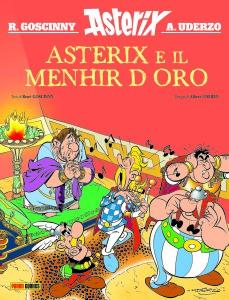 COVER Asterix_Il Menhir d'oro_