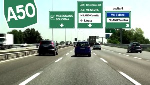 A50 tangenziale ovest milano