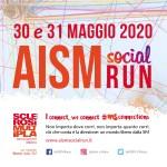 Locandina AISM SOCIAL RUN