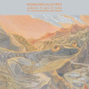 Homunculus Res_Andiamo in giro copertina