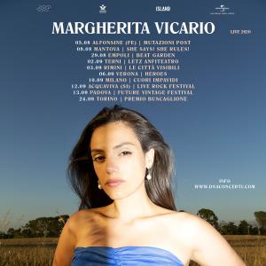 MARGHERITA VICARIO - LIVE 2020