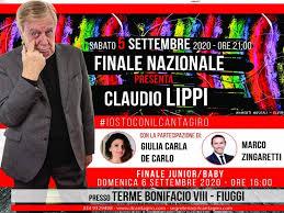 Claudio Lippi presenta finale Cantagiro 2020