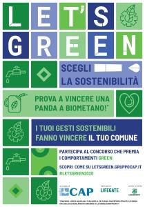 MANIFESTO LETS GREEN GENERICO