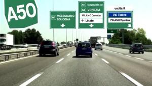 Milano-serravalle A50