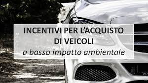 veicoli a basso impatto ambientale