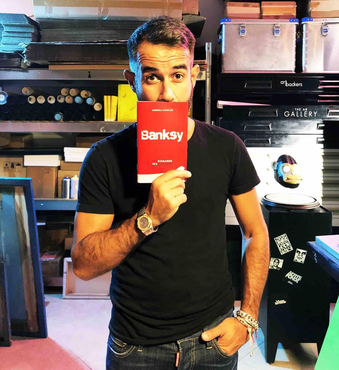 Andrea Concas BANKSY Libro ChatBOT