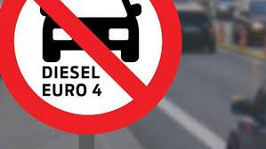 Stop euro 4 diesel