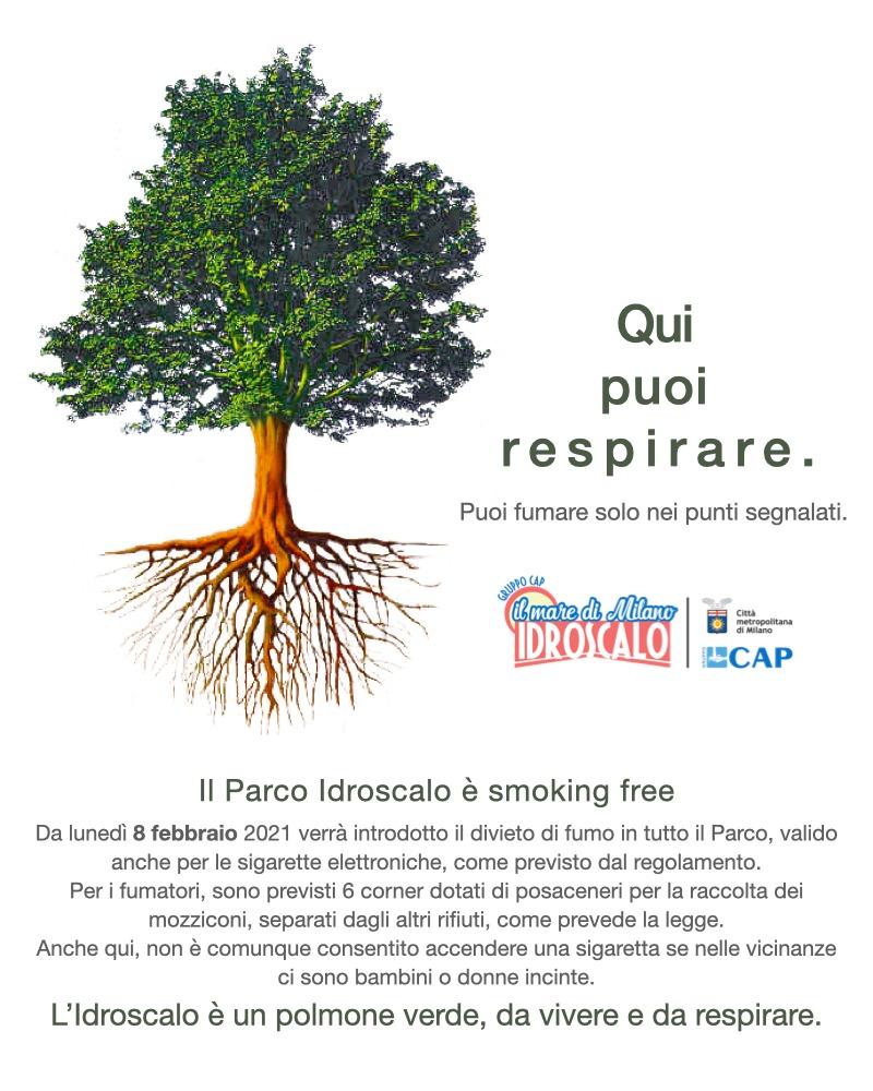 idroscalo divieto di fumo