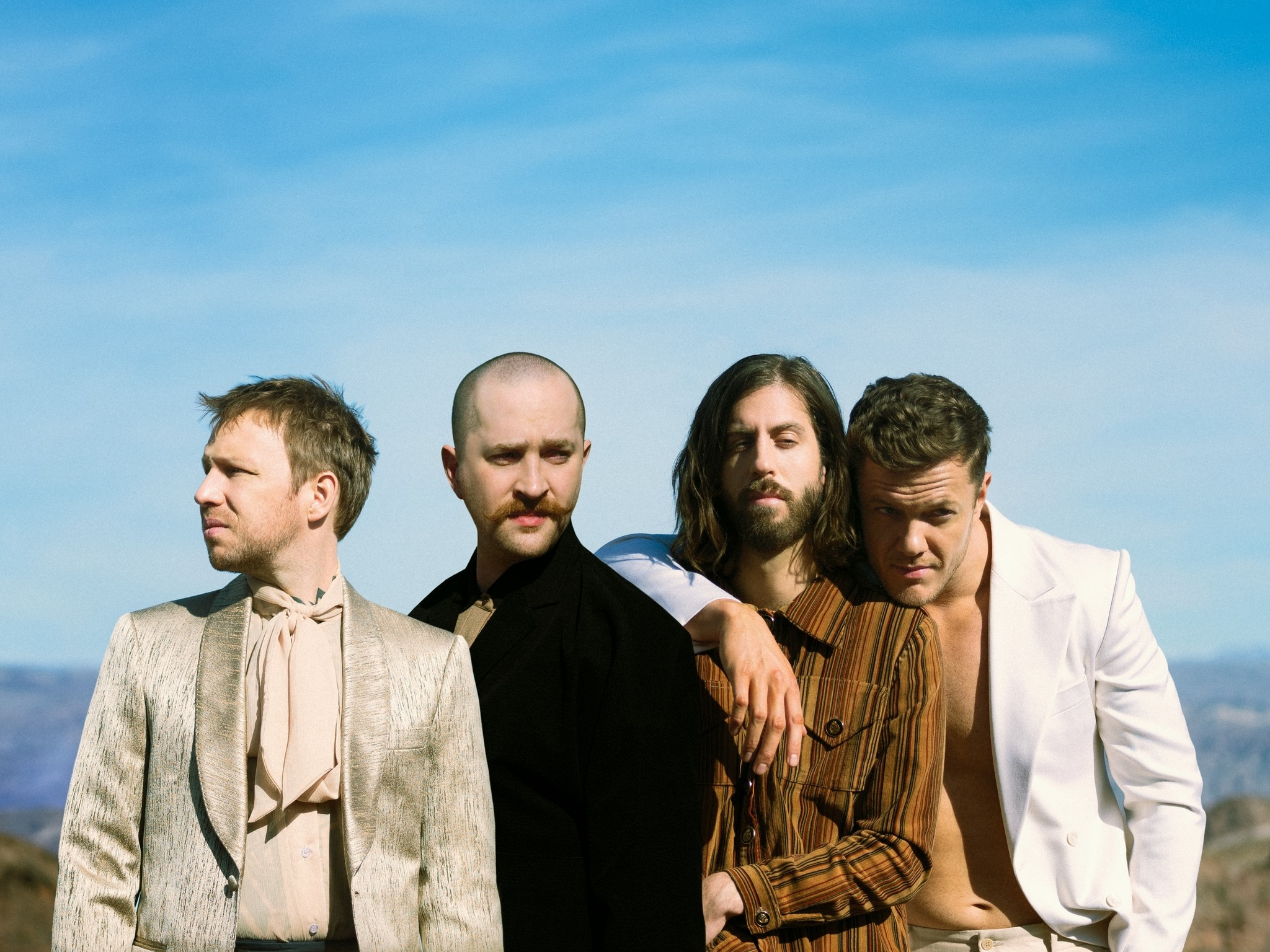 Imagine Dragons Press Pic - with Grain - Low Res